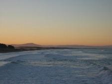 Sunset At New Brighton Beach