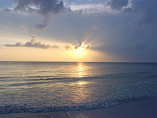 Sunset At North Beach In Fort De Soto Park