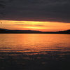 Sunset At Rangeley Lake