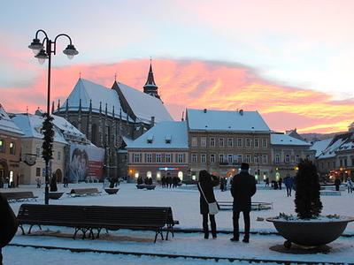 Sunset In Brașov