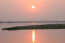 Sunset Mahanadi Delta