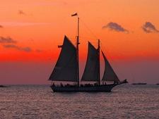 Sunset Off Key West - Monroe County FL