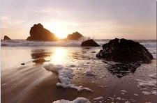 Sunset On Chadbourne Beach