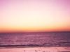 Sunset On San Simeon Beach