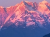 Sunset Over Mount Chaukhamba UT Indian Himalayas