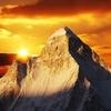 Sunset Over Shivling Peak UT Indian Himalayas