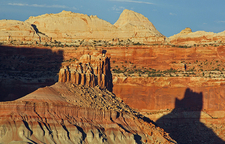 Sunset Point - Late Afternoon - Capitol Reef