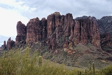 Superstition Mountain Range View AZ