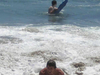 Surfing At Four Mile Beach