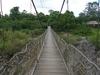 Suspension Bridge At Dray Nur Falls