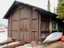 Swanson Boathouse - Glacier - USA