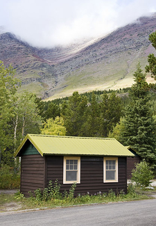 Swiftcurrent Auto Camp Historic District At Glacier - USA