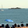 Swinburne Island From South Beach Boardwalk