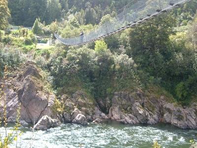 Swing Bridge - Buller River