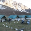 Swiss Tents In Sarchu - Night Halt In Leh - Manali Highway