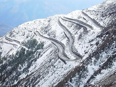 Switchbacks Himalayas