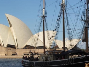 Sydney Harbour Afternoon Tall Ship Discovery Cruise Photos