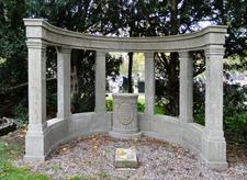 Szczecin Cmentarz Centralny Nagrobek Rodziny Kissling