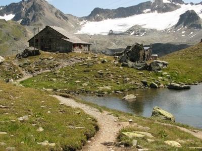 Piz Sarsura  From  Grialetsch Hut