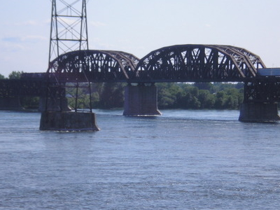 Saint Laurent Railway Bridge