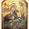 Saint Mercurius Killing Iulian