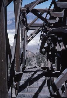 Salt Tram Summit Station In 1989
