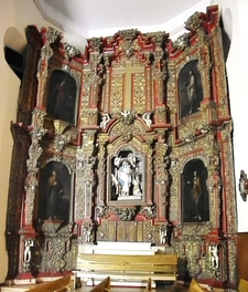 Churrigueresque West Transept Altar