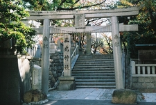 Entrance To Sanko Shrine