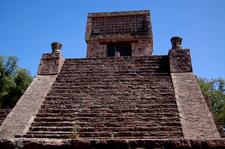 Main Staircase Of The Pyramid Of Santa Cecilia Acatitlan