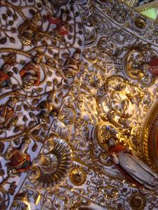 Ceiling Detail, Church Of Santo Domingo