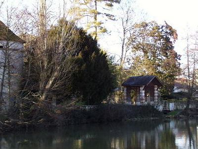The Sevre Niortaise Near Niort