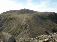 Scafell Pike From Broad Crag