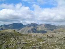 Scafells From Crinkle Crags