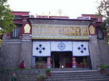 Seat Of Happiness Temple Norbulingka Institute Dharamsala