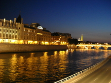 The Seine And Eiffel Tower