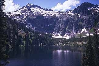 Isolated Lake In The Selway-Bitterroot Wilderness
