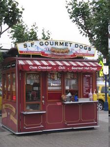 Sf Hotdogs At Pier39