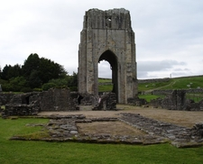 Remains Of Shap Abbey