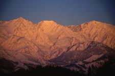 Mount Shirouma In Winter
