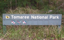 Sign Identifying The Park