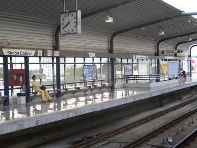 Simon  Bolivar  Station
