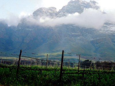Simonsberg From Pniel Area