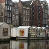 Stalls Of The Bloemenmarkt Floating In The Singel