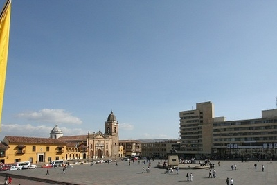 Skyline Of Ciudad De Tunja