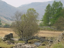 Slaters Bridge On Little Langdale