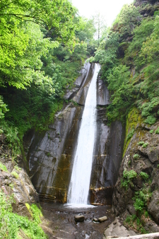 Smolari Waterfall On Mountain