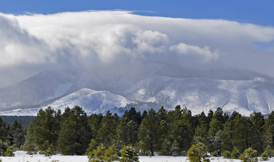 Snow Clouds Over Kendrick Mountain