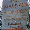 Wilderness Boundary Sign