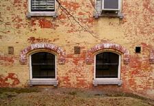 Brickwork At Snug Harbor Buildings