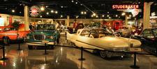 South Bend Studebaker Museum Showroom